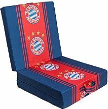 Fanartikel Fanware Fußball Klappmatratze Gästebett Reisebett Gästematratze mit Logo Bayern München