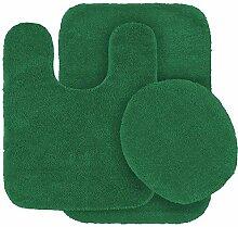 Fancy Linen 3-teiliges Anti-Rutsch-Badmatten-Set,