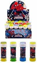 Fancy Me Packung 36 OR 6 Jungen Kinder Spiderman Superheld Blasen Party Beutel strumpffüller Spielzeug Spiele - 6 Pots
