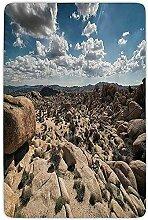 FANCYDAY Badezimmer Teppich Matte, National Parks