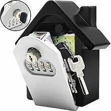 Faneam Schlüsselsafe mit 4 Stelligem Zahlencode