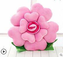 FANG & Freizeit Kissen Plüschtiere stieg Kissen Auto Kissen Sofastoffpuppe Puppe Königin kreative Geburtstagsgeschenk Mädchen Kissen auf dem Bett ( farbe : H , größe : M )