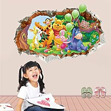 FangKuai FKAL0251 Tiere Zoo Cartoon Winnie Pooh
