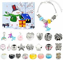 Fangteke Adventskalender Charms Armband Set