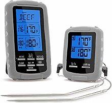 FangWWW Digitales Fleisch-Thermometer mit 2