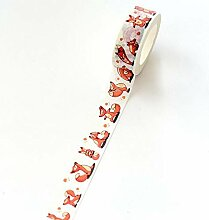 FANILY 1,5 Cm breiter fauler Fox Yoga Washi