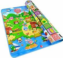Fanova Wasserdicht Spielmatte Krabbeldecke für