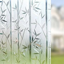 FANPING 3d Bambus Frosted Window Film,