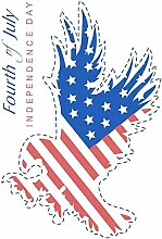 FANPING American Independence Day Aufkleber DIY