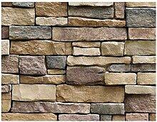 FANPING Brick Stein Rustikal Wand Aufkleber for