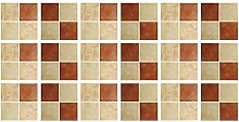 FANPING Frosted Mosaik-Wand-Aufkleber for