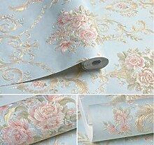 FANPING Geprägte Vintage Blumen Kontakt Papier