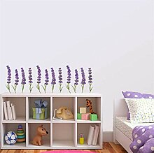 FANPING Lavendel-Wand-Aufkleber DIY Hand Konto