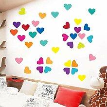 FANPING Liebes-Herz-Wand-Aufkleber DIY PVC-Tapete