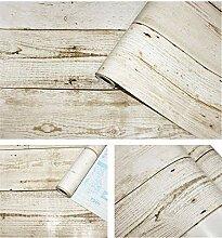 FANPING Peel and Stick rustikale hölzerne Plank