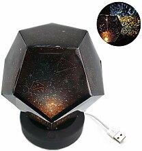 FANPING Sternenhimmel-Projektions-Lampe USB