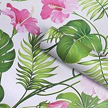 FANPING Vintages Blumenmuster Kontakt Papier Regal