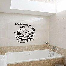 FANPING Wand-Aufkleber for Badezimmer,
