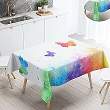 Fansu Tischdecke Wasserdicht Tischwäsche,