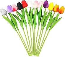 Fansunta Künstliche Tulpen, künstliche Tulpen,