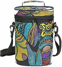 Fantasazio Flaschenkühler mit Elefantenmotiv,