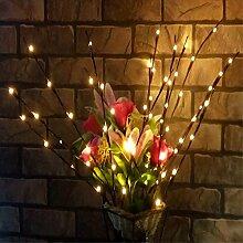 Fantasee LED-Lichterkette mit Zweigen, 76 cm,