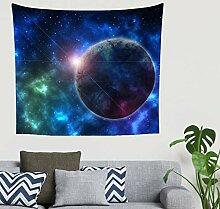 Fantasie Blau Planet Sonnenlicht Sternennebel