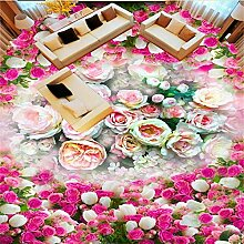Fantasie klassische rose ozean wohnzimmer bad 3d