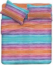 Fantasy Bettwäsche, Mikrofaser 40x30x3 cm Rainbow