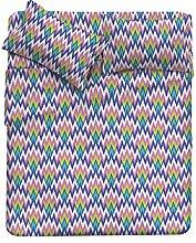 Fantasy Bettwäsche, Mikrofaser 40x30x3 cm Zigzag