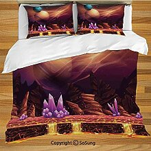 Fantasy House Decor Bettwäsche Bettbezug Set,