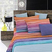 Fantasy Italian Bed Linen Bettwäsche, Rainbow,
