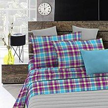 Fantasy Italian Bed Linen Bettwäsche, Scozzese,