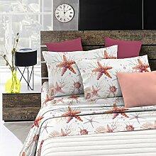 Fantasy Italian Bed Linen Bettwäsche, Starfish,