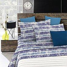 Fantasy Italian Bed Linen Bettwäsche, Stripes,