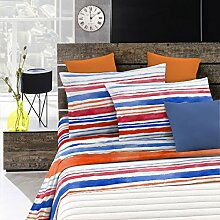 Fantasy Italian Bed Linen Bettwäsche, Strisce,