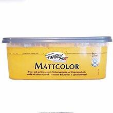 Fantasy Mattcolor Bunte Wandfarbe 2,5 L Farbwahl,