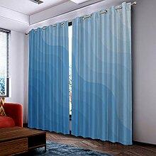 Fantasy Star Thermo-Vorhang für Schlafzimmer,