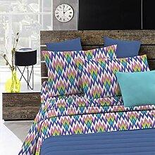 Fantasy Zigzag Italian Bed Linen Bettwäsche,