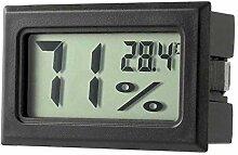 Fantasyworld Digitales Thermometer, LCD, Profi,