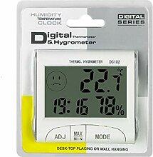 Fantasyworld Mini-Wetter-Thermometer, digital,
