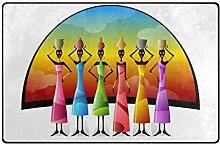 FANTAZIO Fantasazio Teppich für Afrikanische