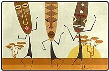 FANTAZIO Fantasazio Teppich mit afrikanischen