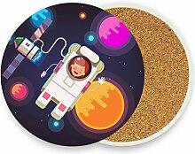 FANTAZIO Hi Space Untersetzer mit verschiedenen