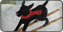 FANTAZIO Teppich für Hunde, rutschfest, für
