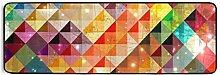 FANTAZIO Teppich mit abstraktem Hintergrund, 183 x