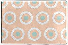 FANTAZIO Teppich mit Einem Ring verbunden mit