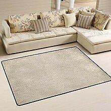 FANTAZIO Teppich mit Faltenmuster, gerader