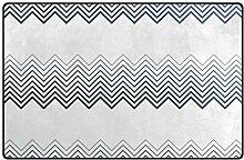 FANTAZIO Teppich mit Farbverlauf, geometrischer