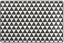Fantazio Teppich mit geometrischem Muster, gerade,